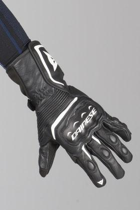 Rękawice Dainese Assen VR46 Czarno-Białe