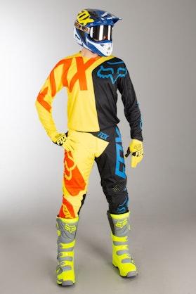 Fox 360 Preme MX Clothes Black Yellow MX 18