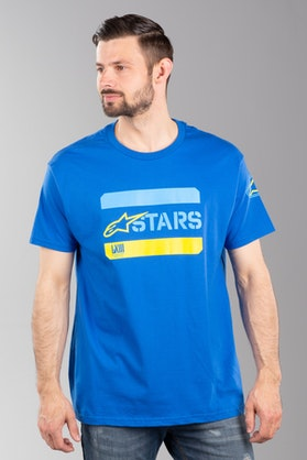 Koszulka Alpinestars Barred Niebieska
