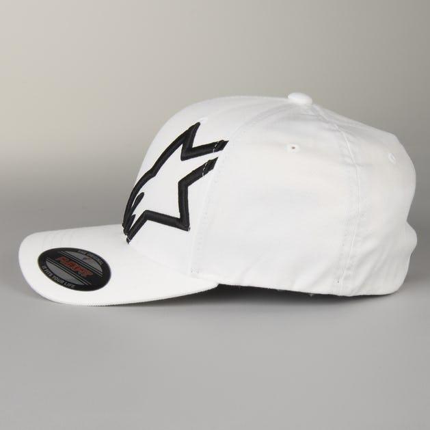 f558081c2e043 Alpinestars Corp Shift 2 Flexfit Cap White-Black - Now 5% Savings ...