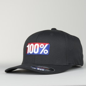 100% OG Flexfit Cap Black