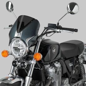 Owiewka Puig Retrovision Windscreen Honda Karbon-Ciemna Przydymiona