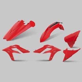 Komplet Plastików Polisport Enduro Czerwony