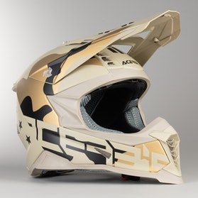 Kask Cross Acerbis X-Racer VRT Moro-Brązowy