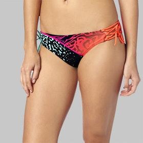 Fox Chargin Lace Up Bikini Btm Fuchsia