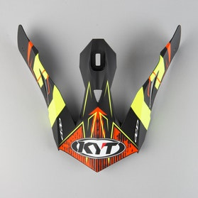 Kšilt Helmy KYT Skyhawk Digger Matně Černo-Žlutý