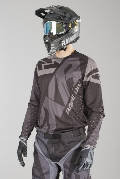 FXR Clutch Prime MX Jersey Black Ops - Buy now, get 26% off