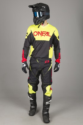O'Neal Element Racewear MX Clothing Kit Neon Yellow