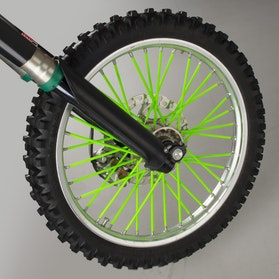 Mx-factory Spoke Protector Neon Green