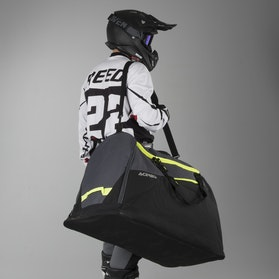 Acerbis 180L Gearbag Black-Yellow