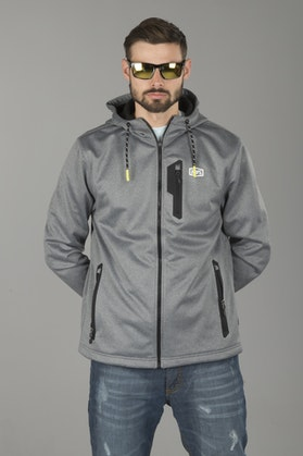 100% Counsil Jacket Heather Charcoal