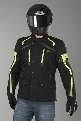 IXS Montgomery GTX Jacket Black-Flou Yellow