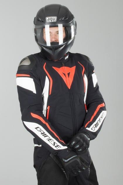 fb167d70e Dainese Dyno Jackert Black-White-Red - Now 5% Savings - XLmoto.ie