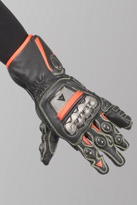 Rękawice Dainese Full Metal 6 Czarno-Czerwone