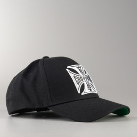 Czapka West Coast Choppers Og Cross Round Bill Snapback Czarna