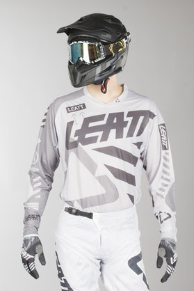 Bluza Cross Leatt GPX 5.5 UltraWeld Stalowa
