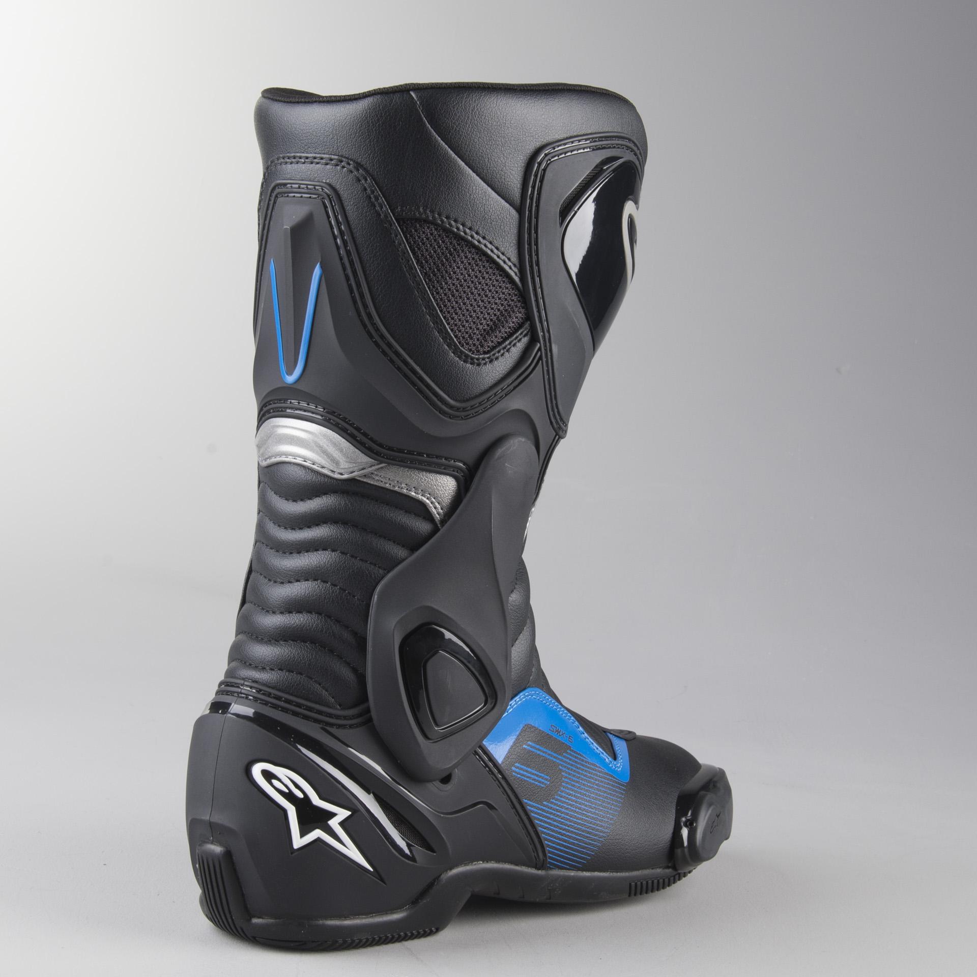 bottes moto tcx sp-master blanc-noir-bleu avis