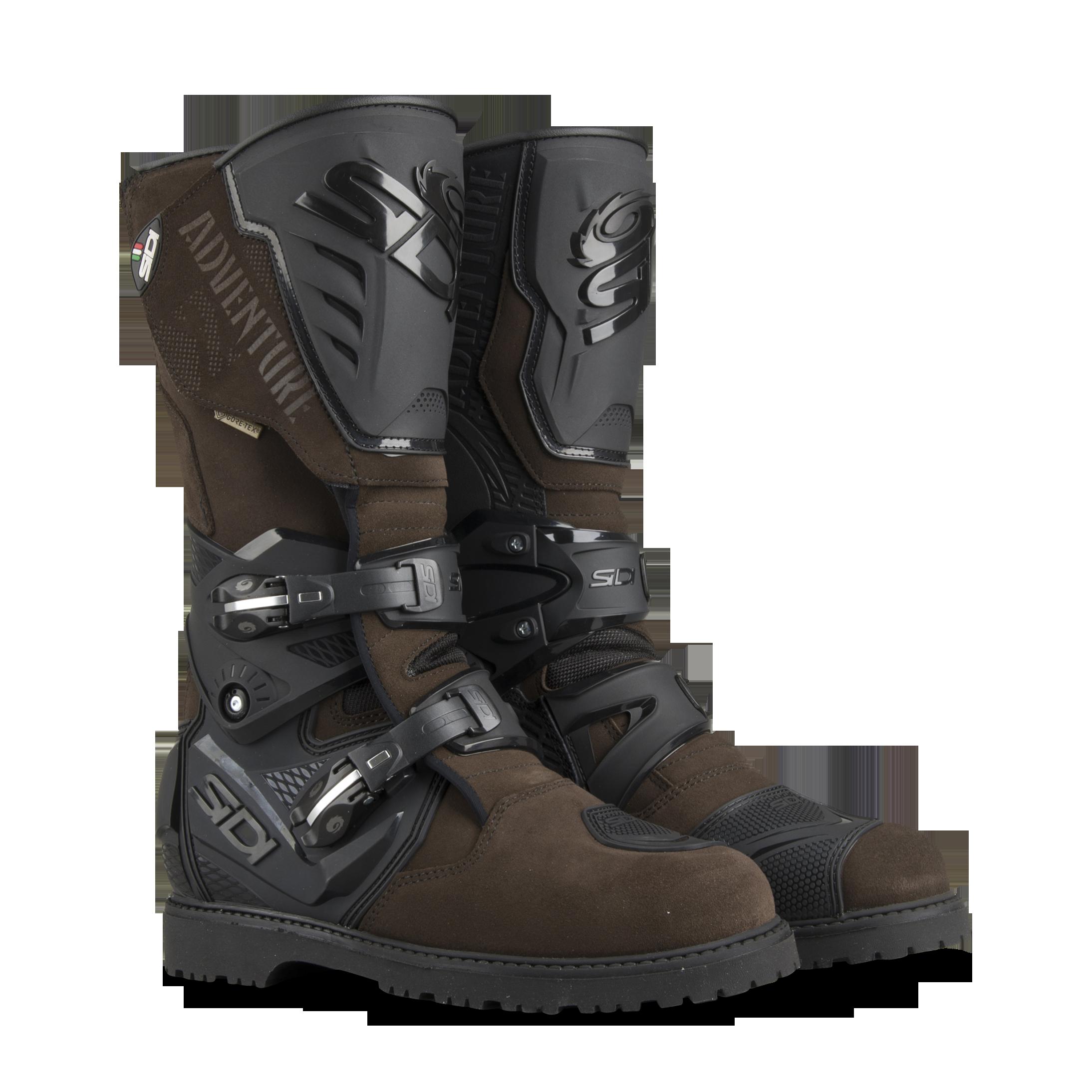 Sidi Adventure 2 Gore Boots Black-Brown