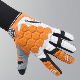 On Board Kid Kx-3 MX Gloves Orange-White-Black