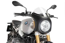 Owiewka Puig Semi-Fairing Retro BMW R nine T Przezroczysta