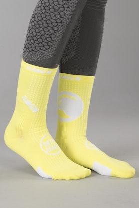 Skarpety Raven Athletic Żółto-Fluorescencyjne 10-Pak