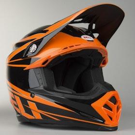 Crossová Helma Bell Moto-9 Tracker Oranžová