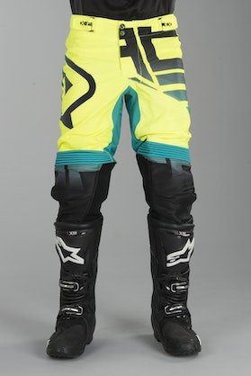 Acerbis X-Flex Omega MX Trousers Black-Yellow