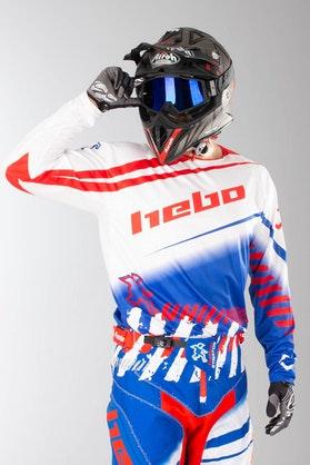 Bluza Cross Hebo Stratos Enduro-Cross Biała