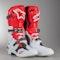 Crossové Boty Alpinestars Tech 10 Bílo-Cerveno-Černé