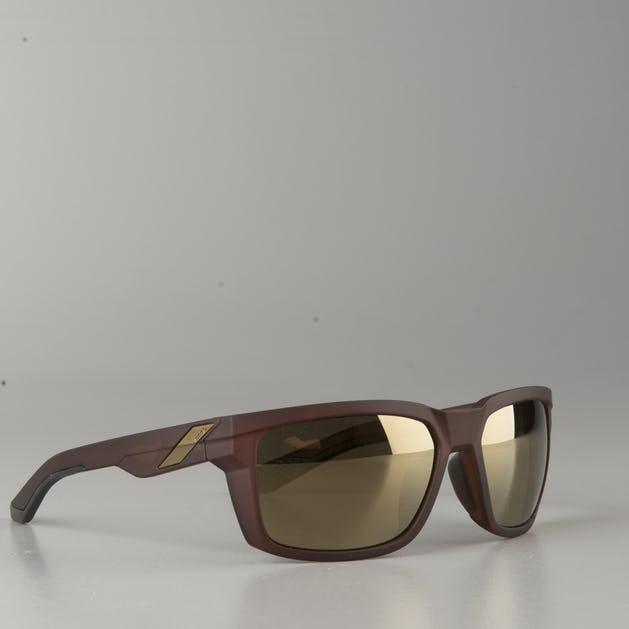 100% Daze Matte Rootbeer w/ Flash Gold Lens