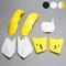 Komplet plastików Rtech Żółto-Biały