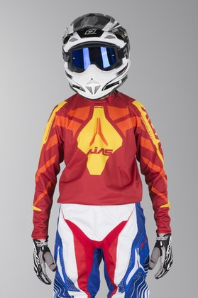 Alias B1 Youth Motocross Jersey Yellow-Red