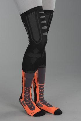 Skarpety Acerbis X-Leg Pro Czarno-Pomarańczowe