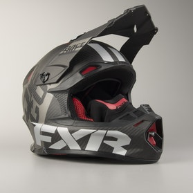 Kask Cross FXR Blade Carbon Race Division Czarny-Ops