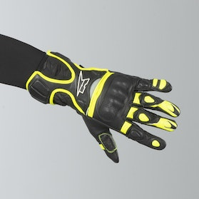 AXO Fight Gloves Black-Yellow