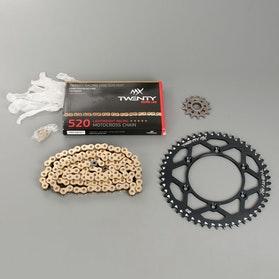 Zestaw napędowy MX Twenty Racing 520 MXP czarny