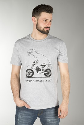 24MX T-MX T-Shirt Grey