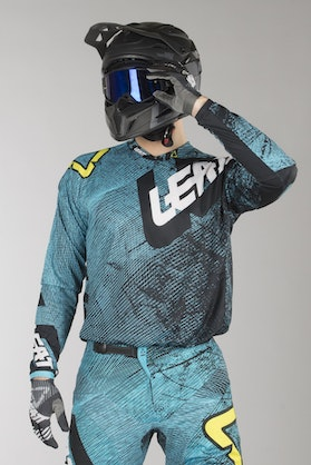 Bluza Cross Leatt GPX 4.5 Lite Tech-Niebieski