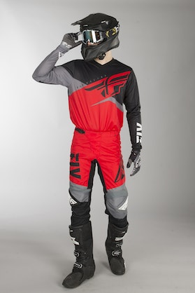 Fly F-16 MX Clothes Red-Black-Grey