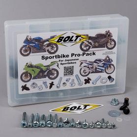 Zestaw śrub BOLT Sportbike 'Big Pro Pack'