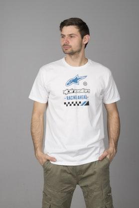 T-Shirt Alpinestars Ahead Biały