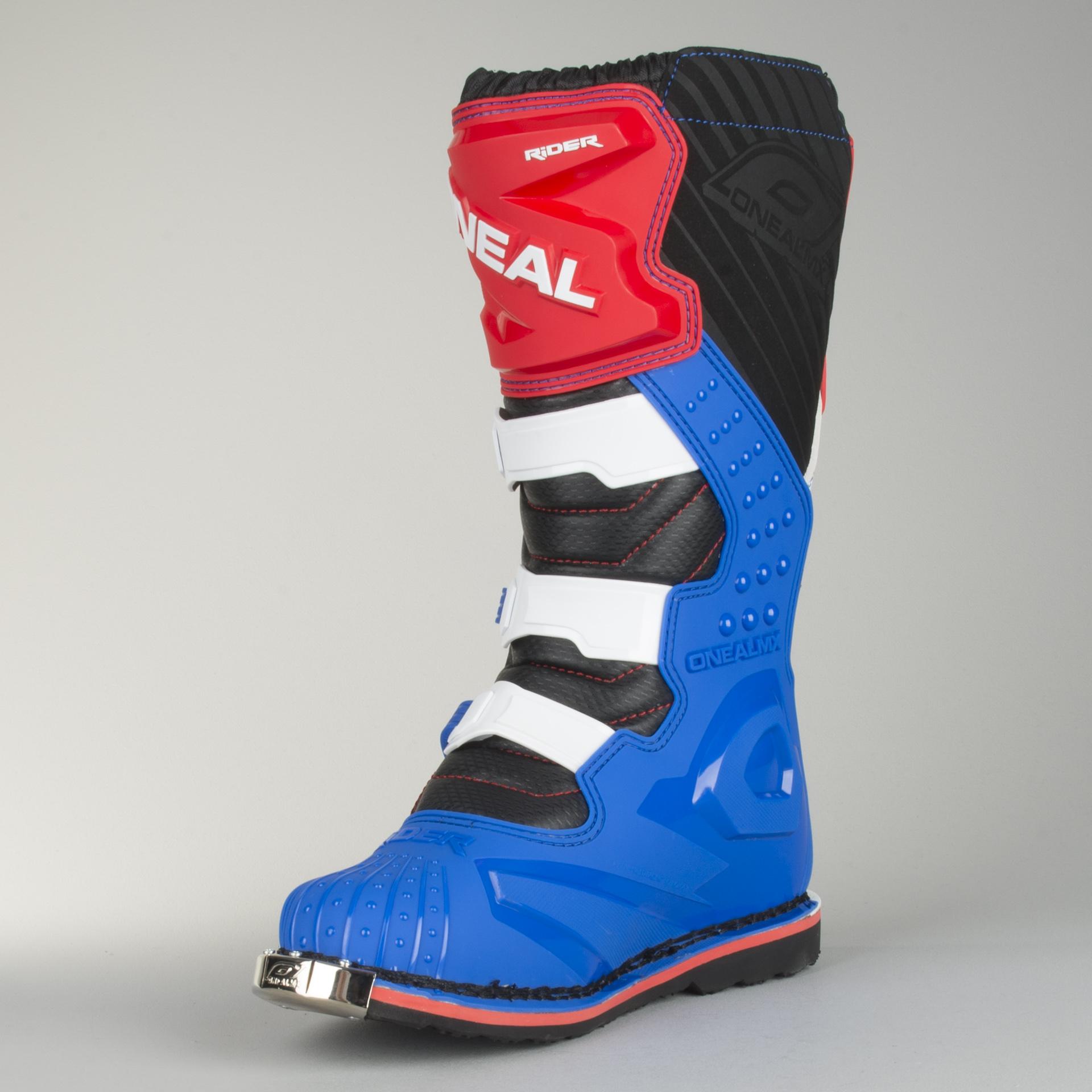 Cross støvler O'Neal Rider Blå Rød Hvid