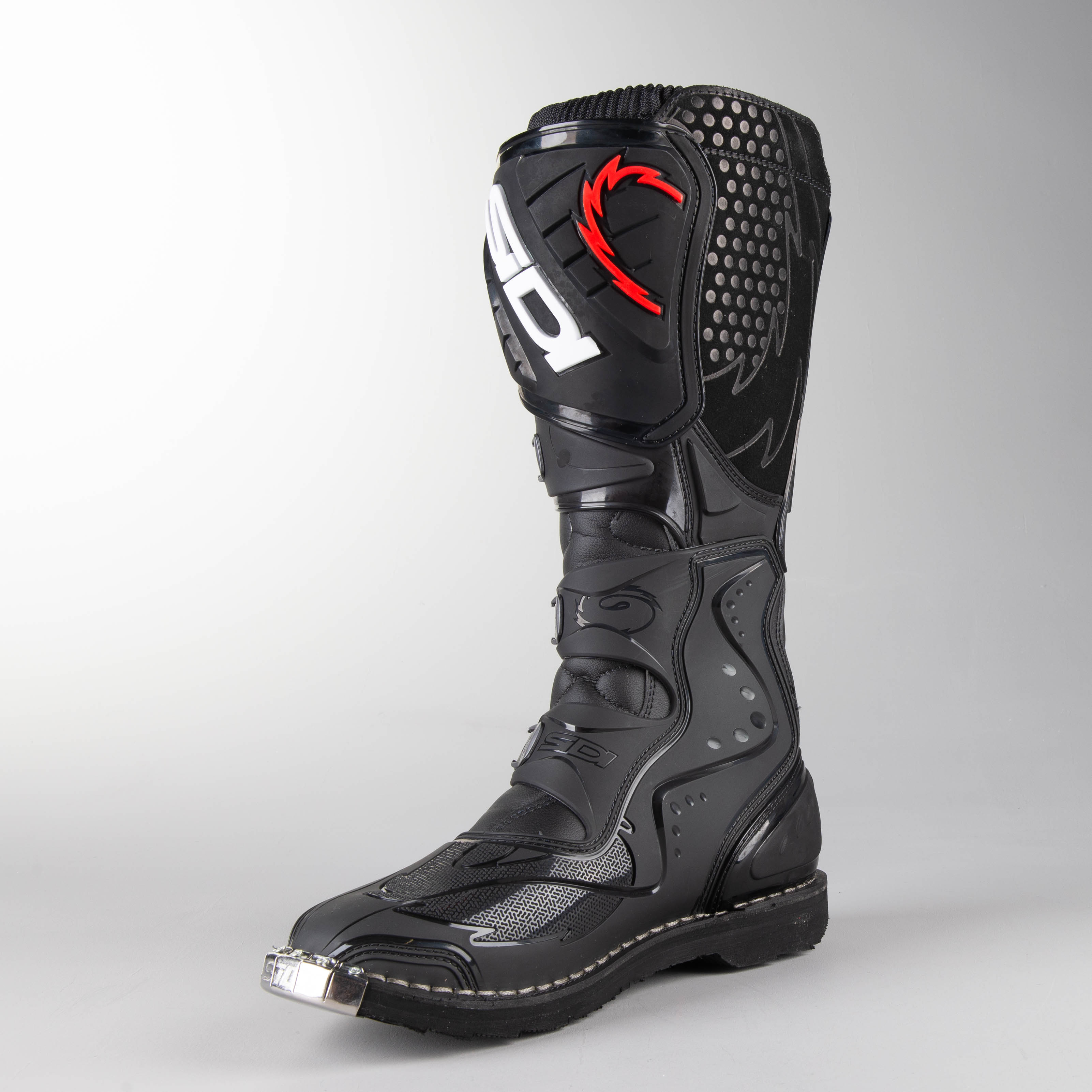 Sidi Agueda MX Boots Black Buy now, get 12% off