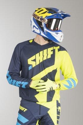 Bluza Cross Shift 3Lack Mainline Neonowo-Żółta MX 17