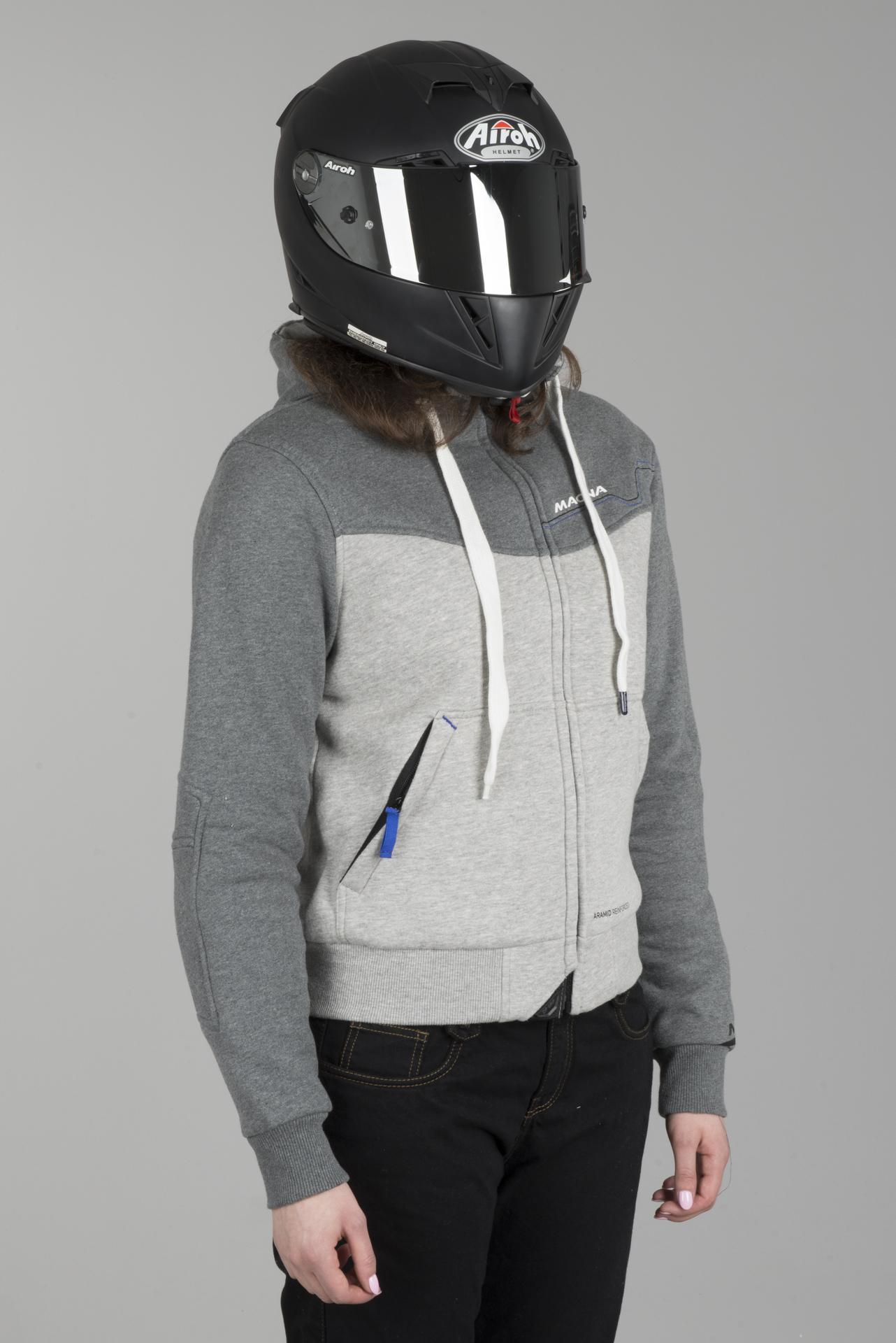 Sweat /à capuche Dupont Kevlar/® pour moto