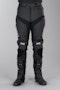 IXS Rouven Leather Trousers Short Black