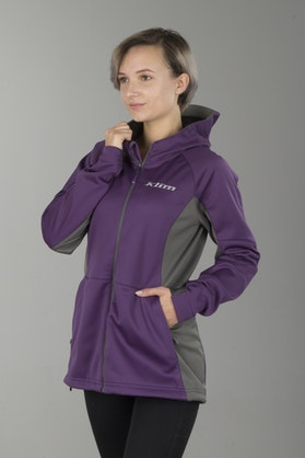Klim Evolution Women's Hoodie Purple