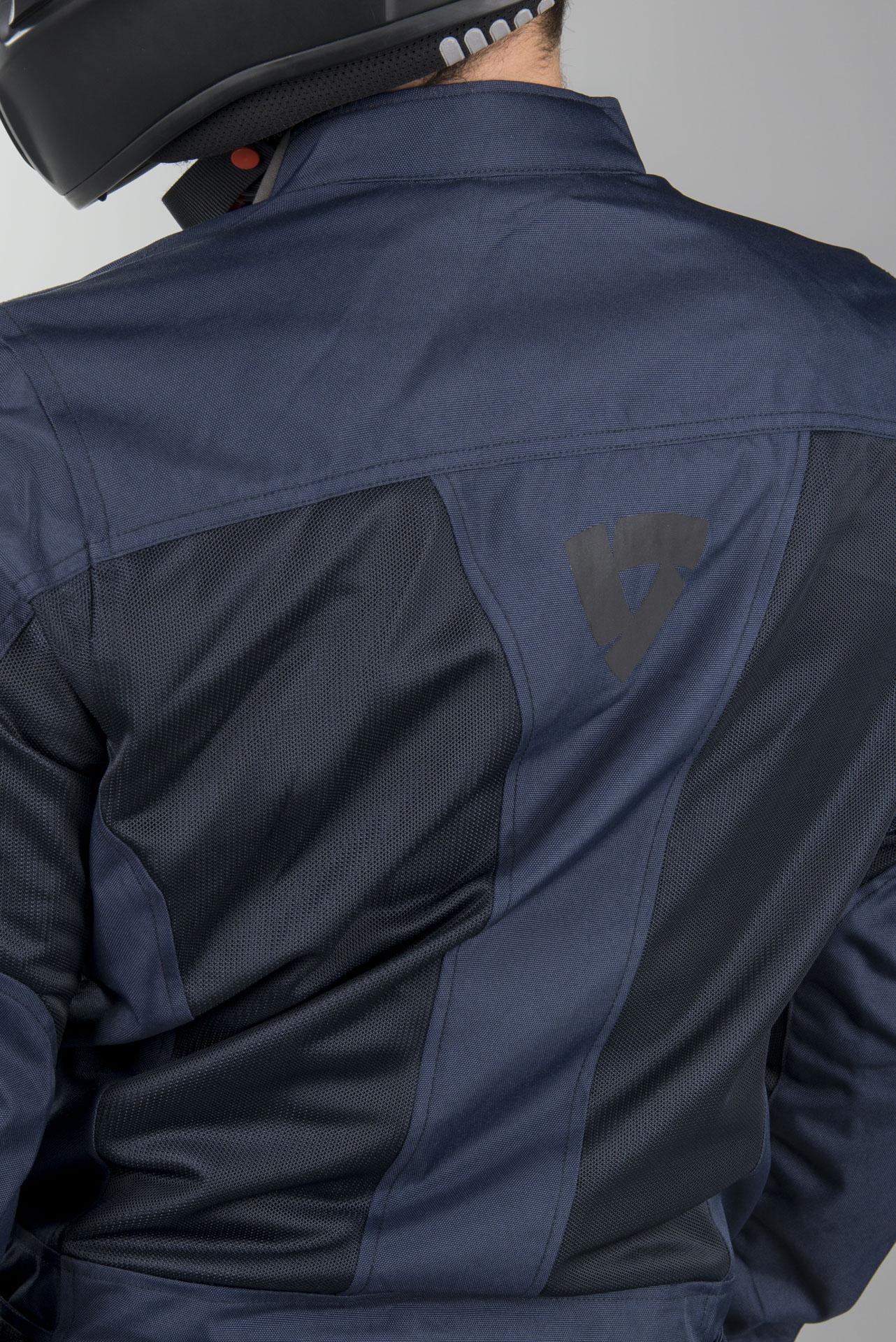 Revit Eclipse Textiljacke Dunkelblau XL