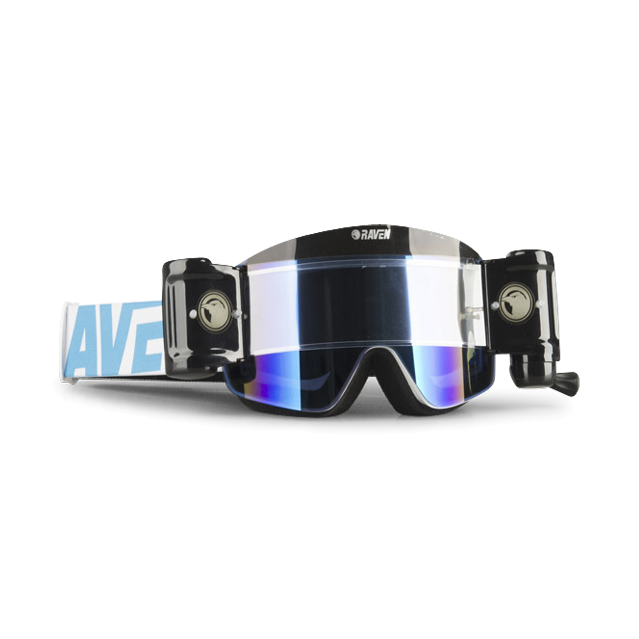 Pellicola a Colori Montatura Nera ROSEBEAR Maschera da Moto Motocross Maschera off Road MX ATV Dirt Bike Occhiali Occhiali