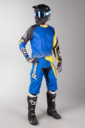 Freestyle Upforce MX Clothes Blue-Yellow
